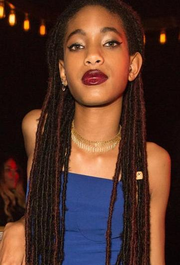 Willow with dreads
