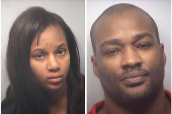 Inmates Jasmine Jones and Norris Speed