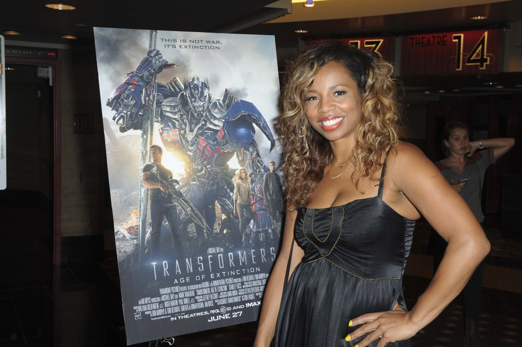 "Kiyah Wright from OWN's ""Love in the City"" stopped in at the L.A. screening"