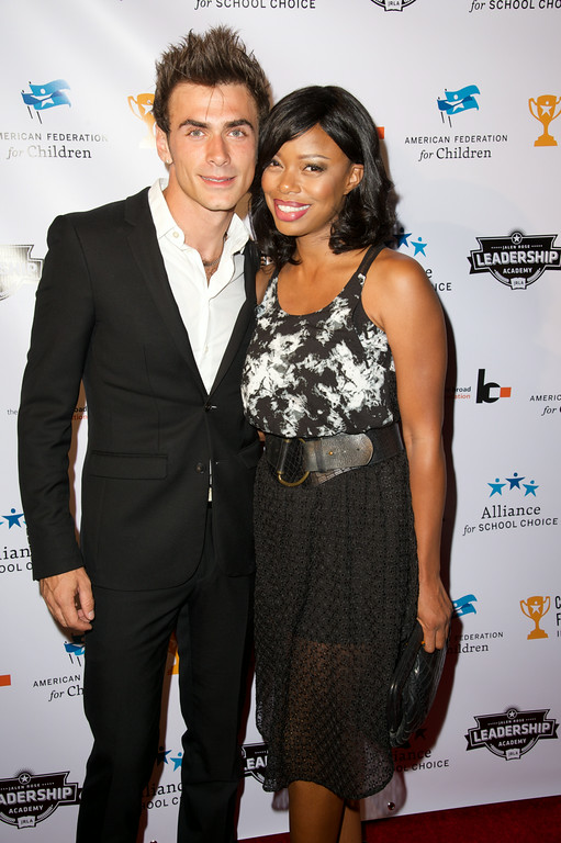 Actress Jill Marie Jones and boyfriend