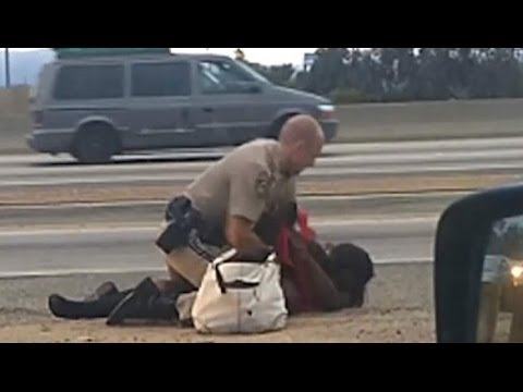 CHP Beats woman
