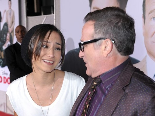 One of many happy times Robin Williams spent with his daughter, Zelda