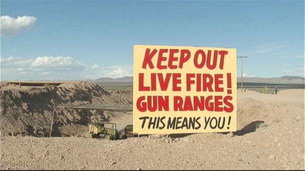 Shooting range accident, Utah