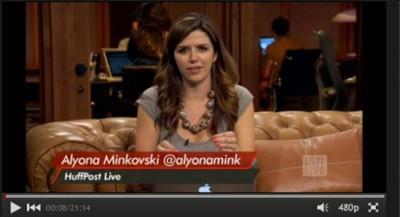 Alyona Minkovski of Huffpost Live