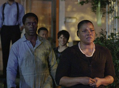 "Isaiah Washington (L) and Mo 'Nique star in the new Indie film, ""Blackbird"""