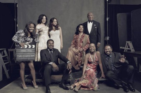 "Cast of ""The Cosby Show"" Now."