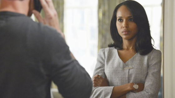 "Kerry Washington as ""Olivia Pope"" on ""Scandal"""