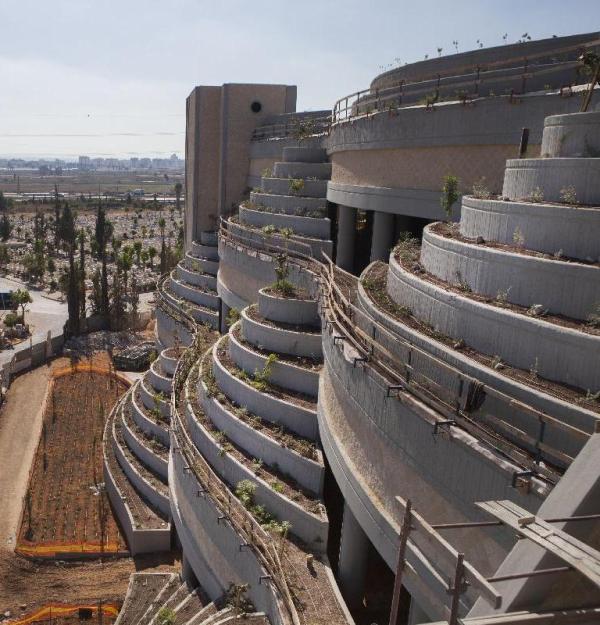 Israel has built cemeteries six-feet-up