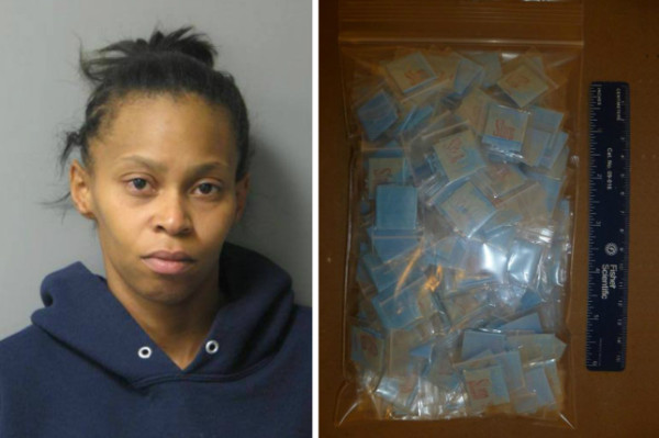 The drugs belonged to her mother, Ashley Tull (Picture: Delaware State Police)