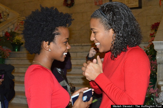 Ferguson women get engaged