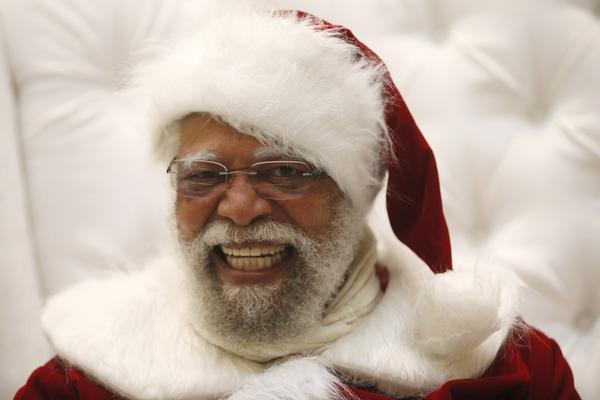 Langston Patterson, 77, a true Santa Claus!
