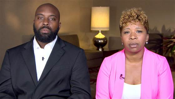 michael browns parents