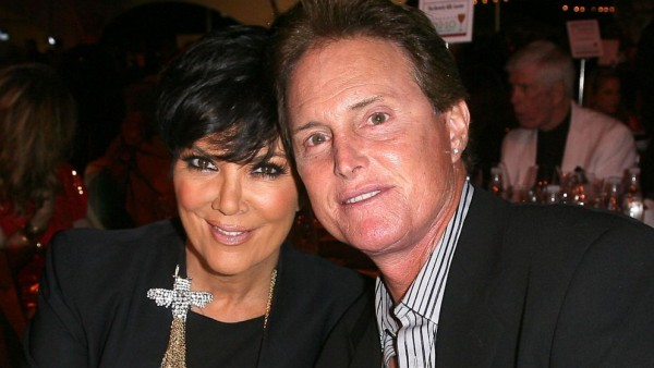 Kris Khardashian and Bruce Jenner in a different time and place