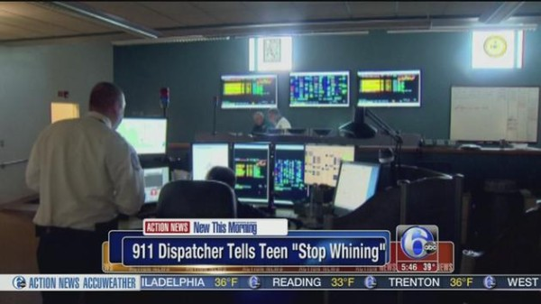 911 operator, stop whining