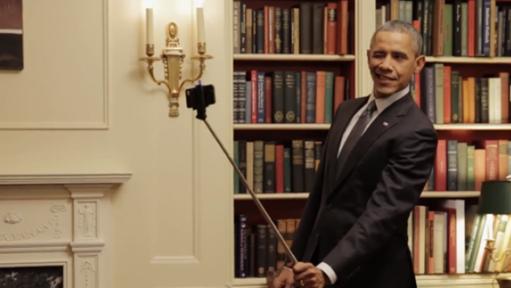 Obama selfie2