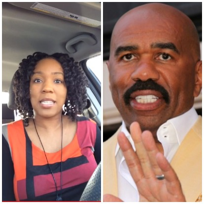 Steve Harvey and Woman, Special Needs