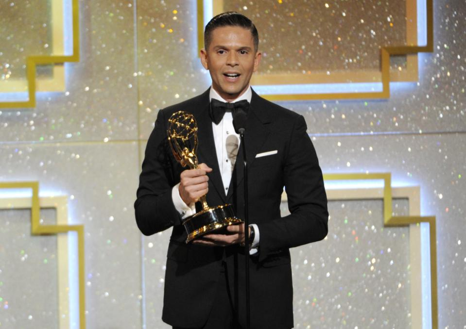 Rodner Figueroa was ridin' high when he won his Emmy. Now he'll be lucky if he can get a job at Target