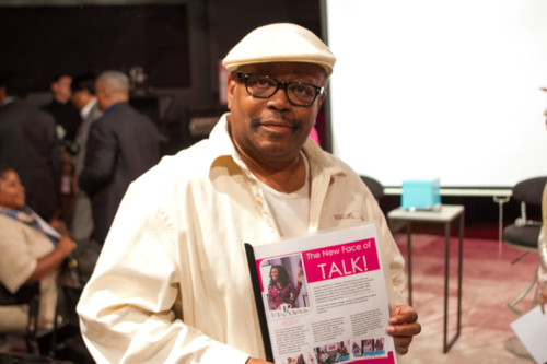 EURweb publisher Lee Bailey came out to support LaCora Stephens' launch of YES!
