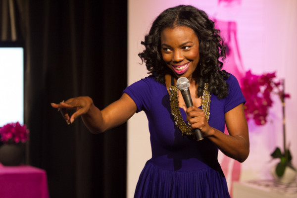 LaCora Stephens hosts The YES! Show, and combines real talk, humor and purpose to viewers
