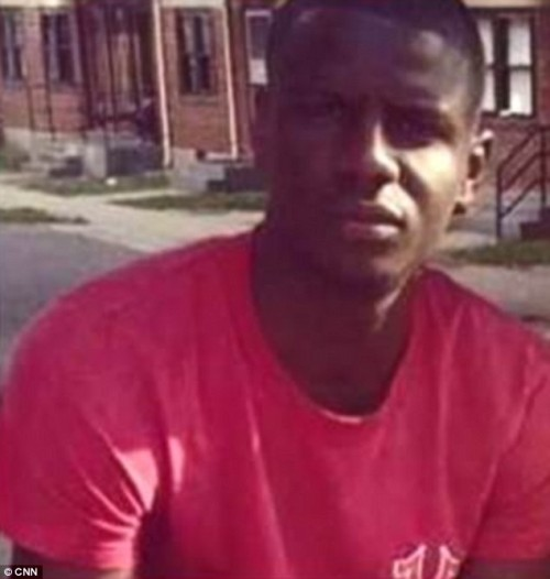 Freddie Gray died Sunday after he 'had his spine 80 percent severed at his neck' during an arrest last week