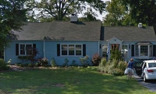 Home where Barbara Beam passed.