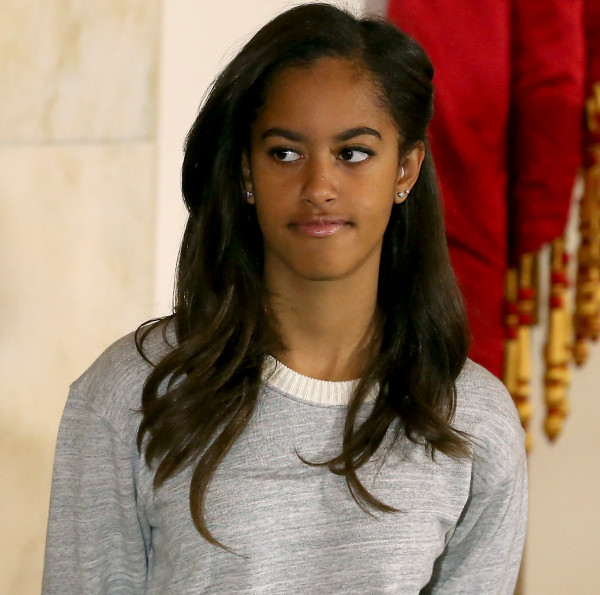 The very lovely Malia Obama