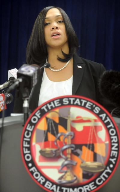 Marilyn Mosby, Baltimore State Attorney-elect