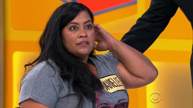 Price is right contestant, Danielle Perez