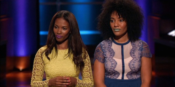 """One """"shark Tank"""" judge told the woman on the right if she stepped into a business wearing that lipstick they would think she was dead."""