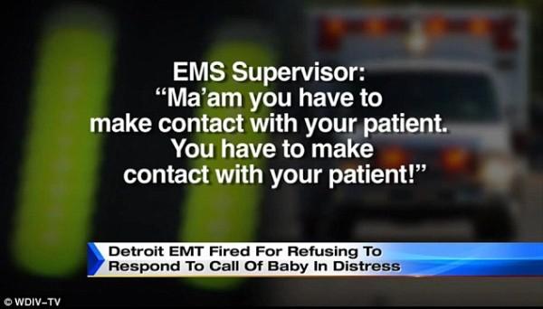 EMT Dispatcher msg