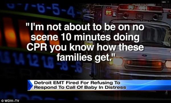 EMT Response to Dispatcher