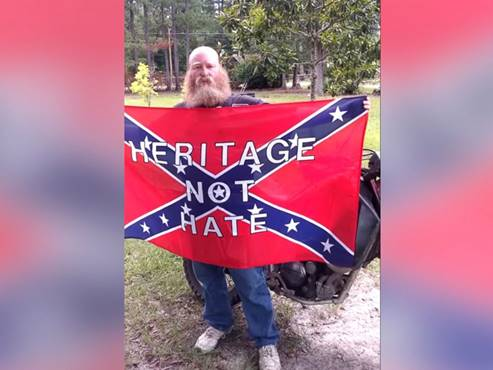 Heritage Not Hate Flag, Confederate