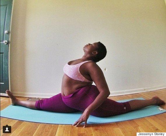 Yogi, teaching women to love their body