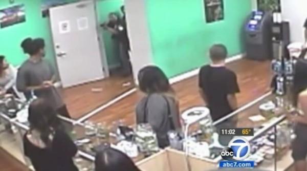 cops raid santa ana marijuana dispensary
