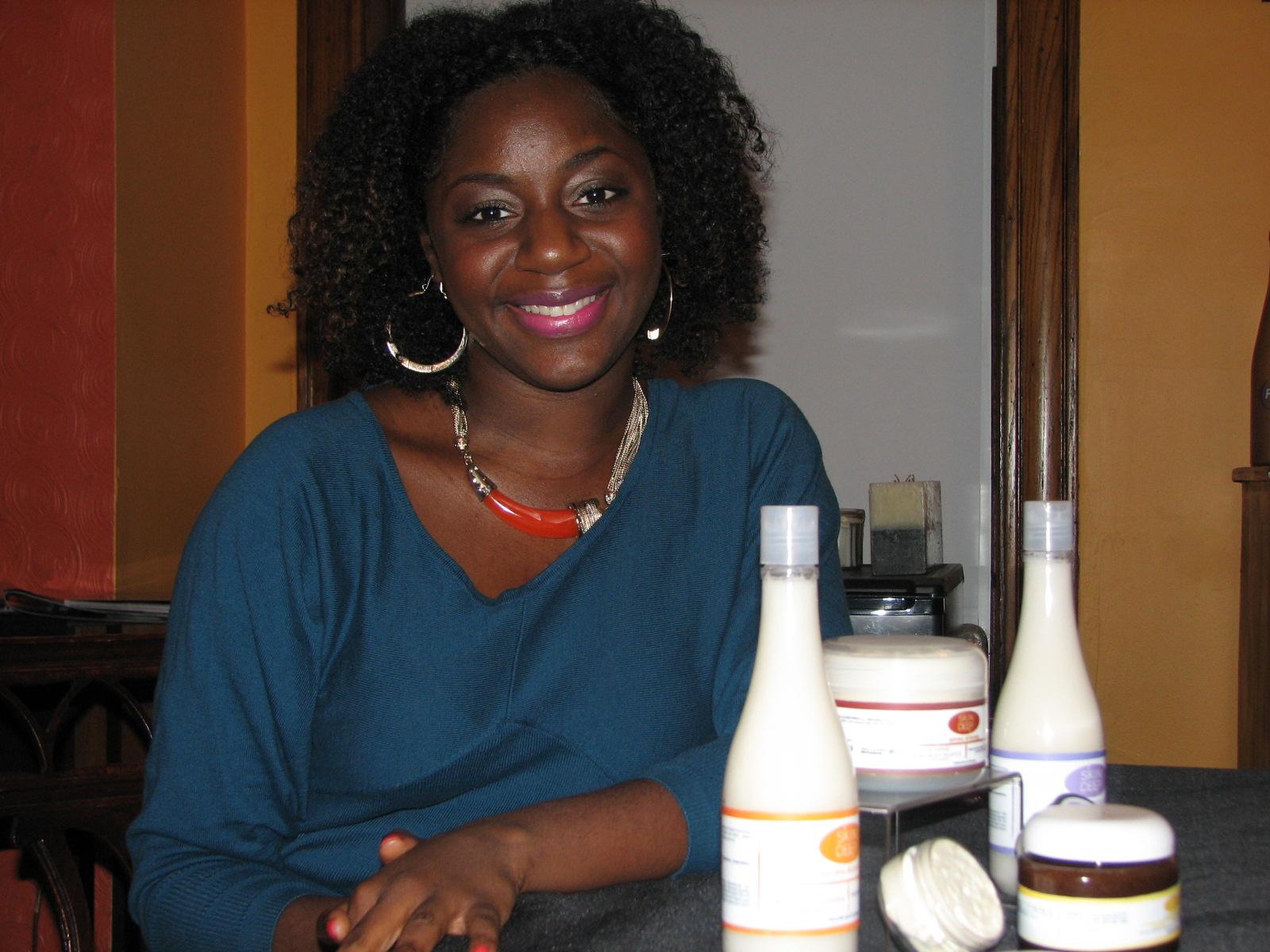 Dominique Convington, owner of Skin Deep Natural Body Care