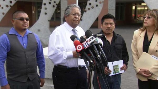 The family of Ricardo Diaz-Zeferino, an unarmed man fatally shot by police in Gardena