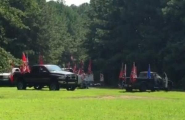 Confed Flags Truck