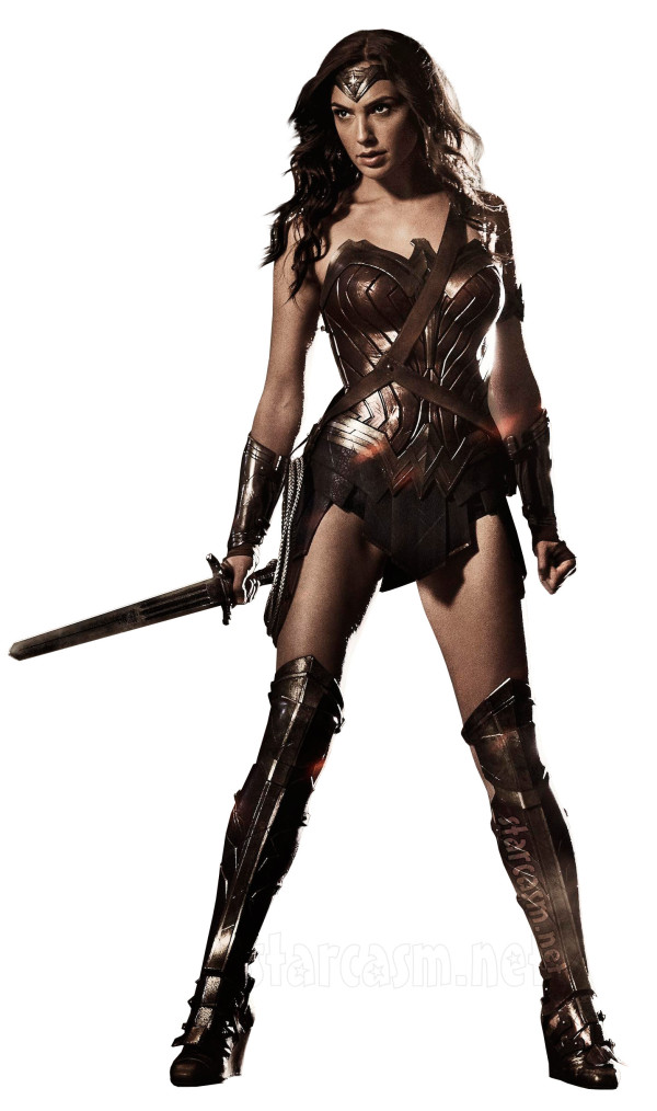 "Gal Gadot as ""Wonder Woman"", to be seen in next year's ""Batman v Superman"""