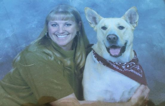 Kelly Black and her best friend, Paco