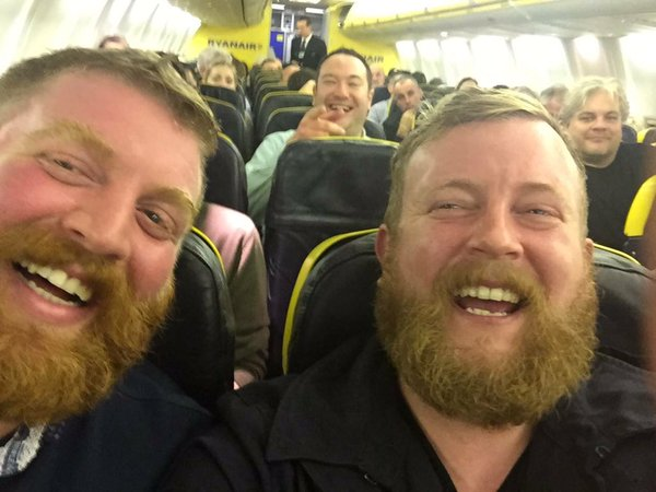 Absolute strangers...And YOU thought they were twins.