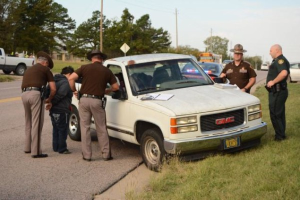 Police arrest mother of 3 year old truck driver