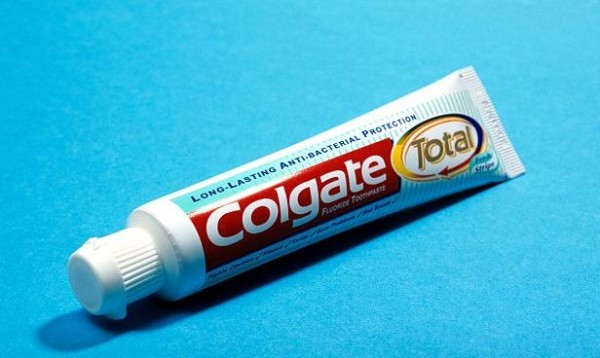 Colgate Total Toothpaste, canerous agents