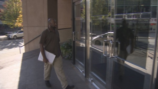 Canty represented himself in his October 23 immigration hearing.
