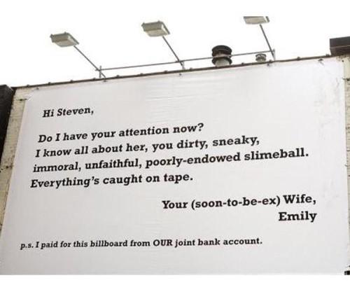 billboard, cheater