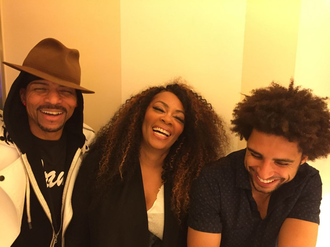 Shalamar Reloaded's Rosero McCoy, Jody Watley, and Nate Allen Smith.