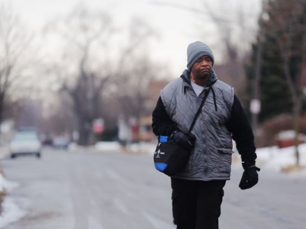 Man walks 21 miles to work, James Robertson