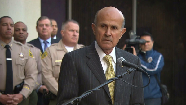 Retired L.A. County Sheriff, Lee Baca, admits to lying about his involvement in case.