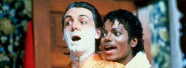 "Michael Jackson and Paul McCartney from ""The Girl Is Mine"""