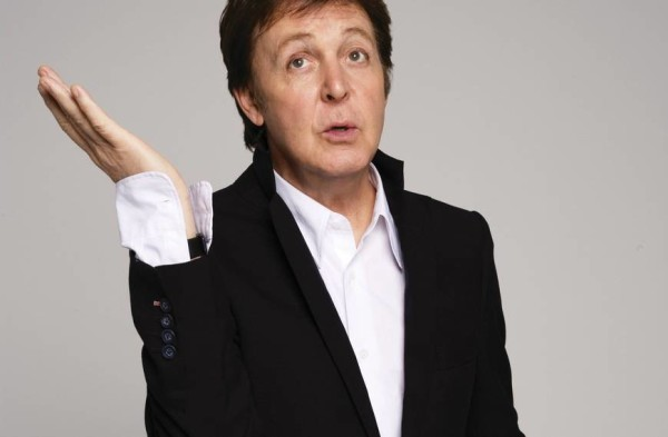 Sir Paul McCartney...What?
