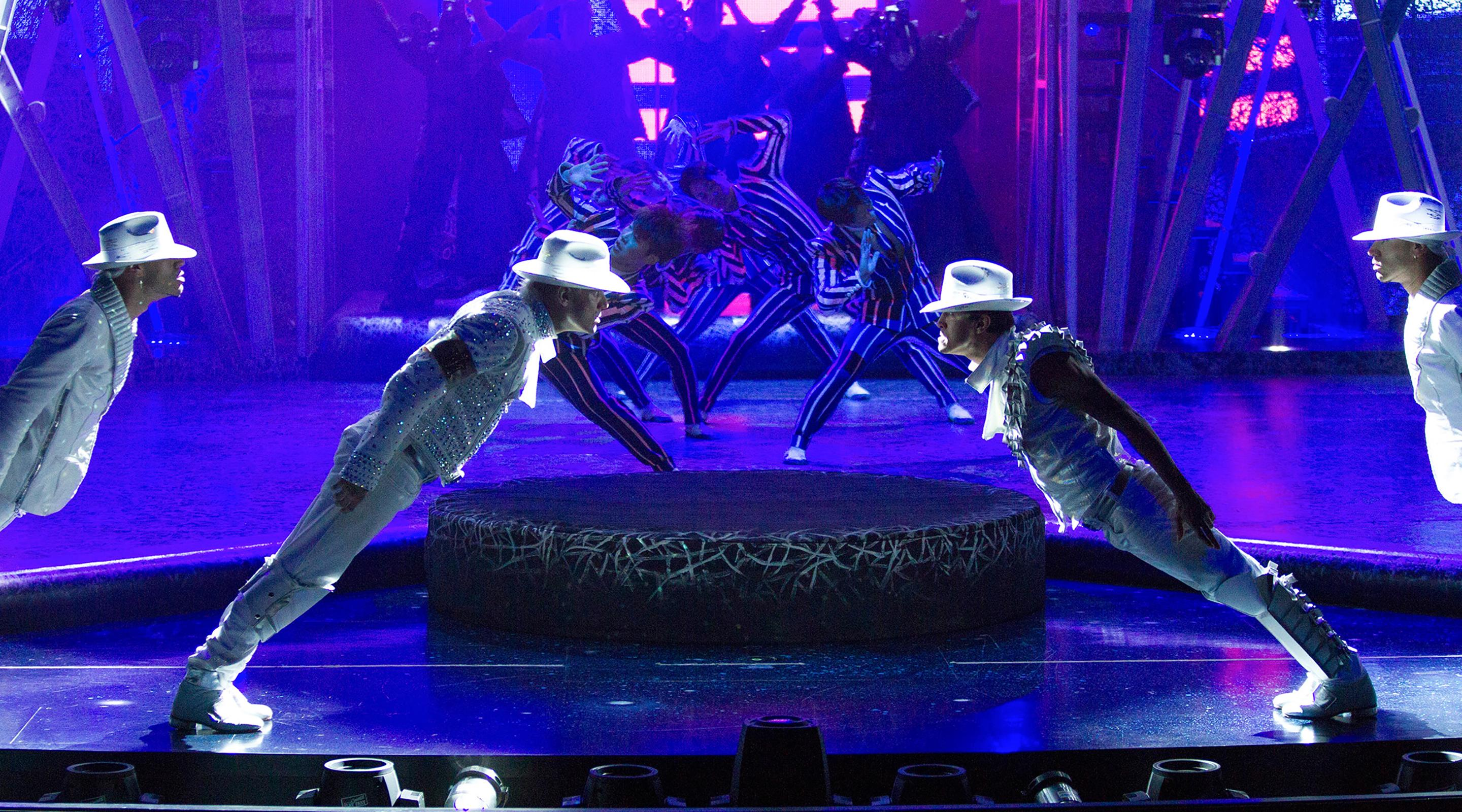 Michael Jackson ONE by Cirque du Soleil Smooth Criminal Dancers